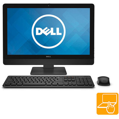 Dell Black Inspiron 5348 All-In-One Desktop PC with Intel Core i7-4790S Processor, 12GB Memory, 23