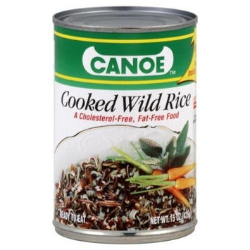 Dana Canoe, Rice Wild Precooked Tin, 15 OZ (Pack of 12)