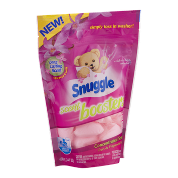 Snuggle Scent Boosters Concentrated Scent Pacs Wild Orchid Wonder - 20 CT
