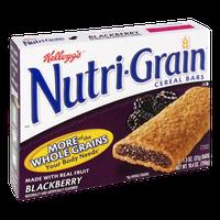 Kellogg's Nutri-Grain Blackberry Cereal Bars - 8 ct