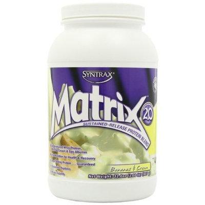 Syntrax Matrix 2.0, Bananas and Cream, Whey Protein, 2.00 Pounds
