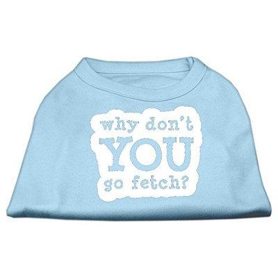 Ahi You Go Fetch Screen Print Shirt Baby Blue XXL (18)