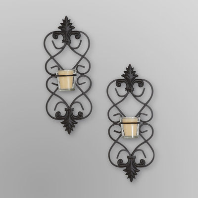 Three Hands Corp. Three Hands Metal Wall Sconces & Votives - Filigree