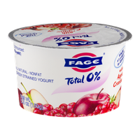 Fage Total 0% Nonfat Greek Strained Yogurt With Apple Cranberry