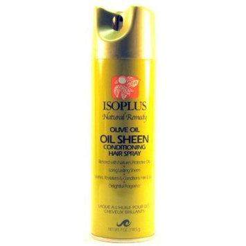 Isoplus Oil Sheen Hairspray Olive Oil 7oz