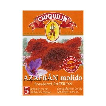 Hot Paella Pure Powdered Saffron Sachets, 5 count