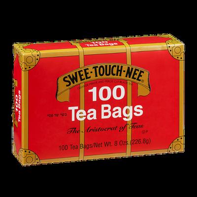 Swee-Touch-Nee Orange Pekoe and Pekoe Cut Black Tea Bags - 100 CT
