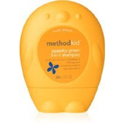 Method Products Shampoo Kid's 3-In-1 Peach 10 Ounces