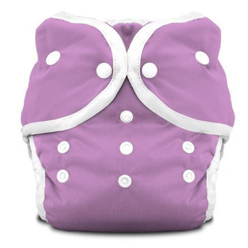Thirsties Duo Diaper Snap, Orchid, Size One (6-18 lbs) (Discontinued by Manufacturer)