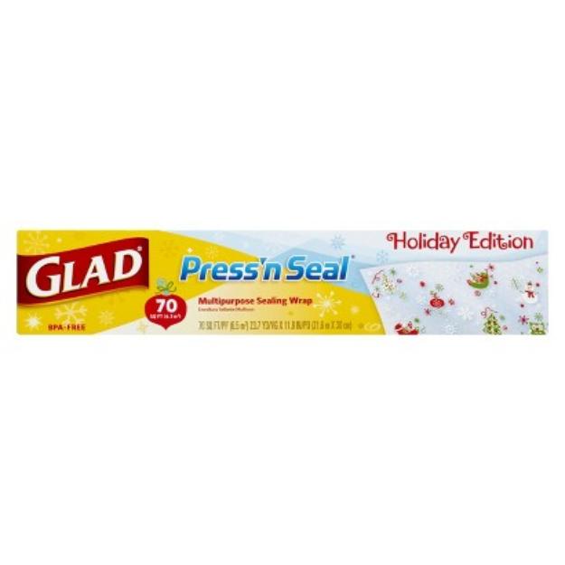 Glad Press n' Seal 70sqft Holiday