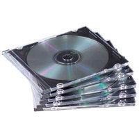 Fellowes 98318 50-pk. Clear Slim DVD/CD Jewel Cases