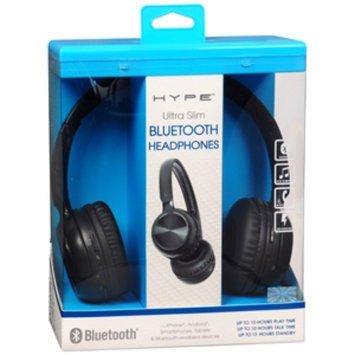 Hype Active Sport Bluetooth Headset, Black, 1 ea