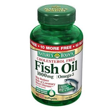 Nature's Bounty Omega-3 Fish Oil 1000 mg Softgels