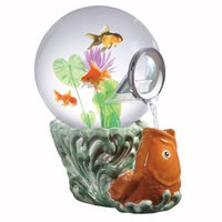 Aquatica Gallery Magic Globe Koi Goldfish Aquarium, 5-Gallon