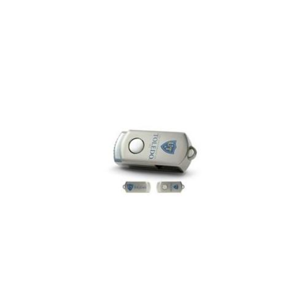 CENTON Centon Electronics DSTC8GB-TOL University of Toledo Custom Logo USB Drive Datastick Twist 8GB 8GB