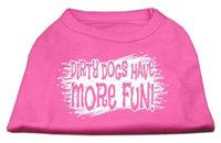 Ahi Dirty Dogs Screen Print Shirt Bright Pink XXXL (20)