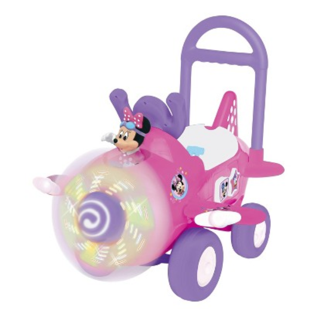 Disney Minnie Mouse Plane Ride-On Toy