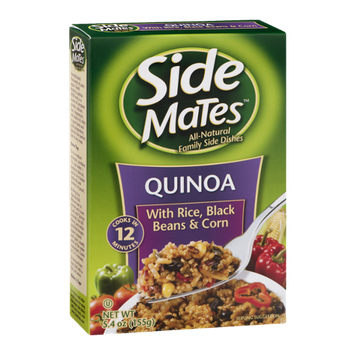 Side Mates Quinoa With Rice, Black Beans & Corn