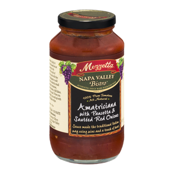 Mezzetta Napa Valley Bistro Amatriciana with Pancetta & Sauteed Red Onions Sauce