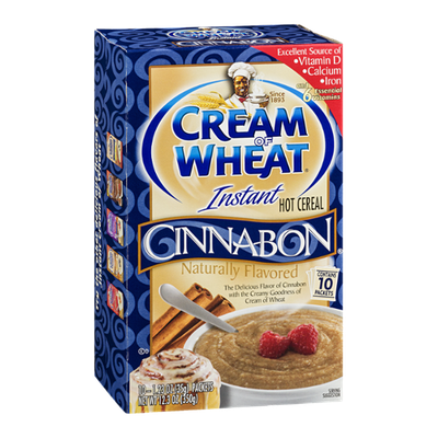 Cream of Wheat Instant Hot Cereal Cinnabon - 10 CT