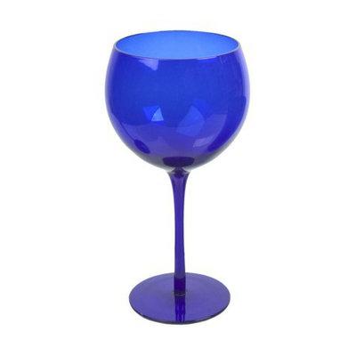 Artland Balloon Glass Set of 6 - Midnight Cobalt