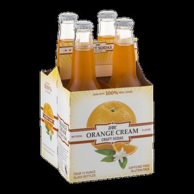 WBC Orange Cream Craft Sodas - 4 PK