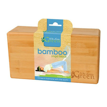Wai Lana Green Bamboo Yoga Block