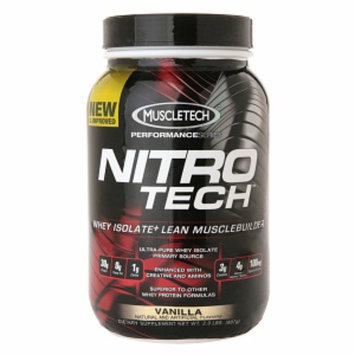 MuscleTech Nitro Tech Whey Protein Isolate+