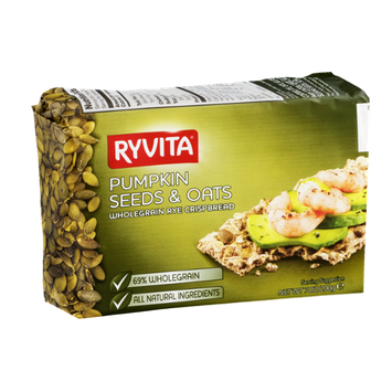 Ryvita Wholegrain Rye Crispbread Pumpkin Seeds & Oats