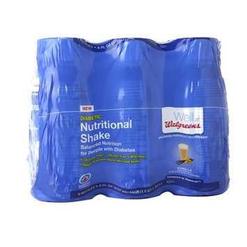 Walgreens Nutritional Diabetic Shake Vanilla