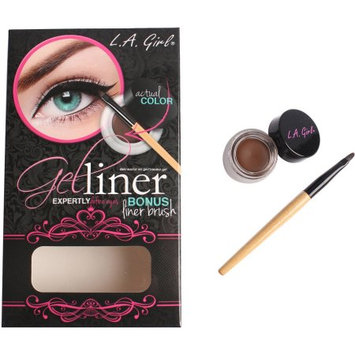 LA GIRL Gel Liner Kit - Brown