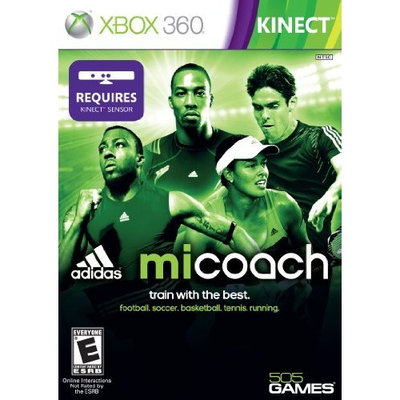 505 Games miCoach by Adidas - Xbox 360