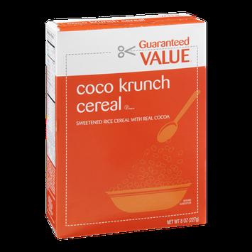 Guaranteed Value Coco Krunch Cereal