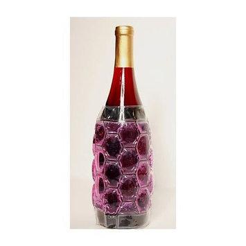 Zee's Creations ZEECS4003 Cool Sack Wine Bottle Wrap Burgandy