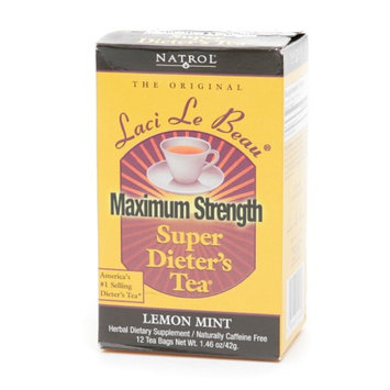 Laci Le Beau Super Dieter's Tea Bags Maximum Strength Lemon Mint
