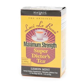 Laci Le Beau Super Dieter's Tea Bags Maximum Strength Lemon Mint