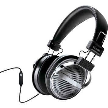 iSound HM-270 Stereo Headphones (Silver)