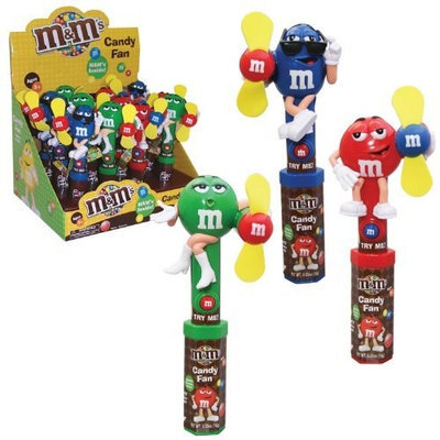 Play Visions M&M Character Fan