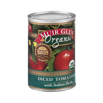Muir Glen Organic Diced Tomatoes with Italian Herbs