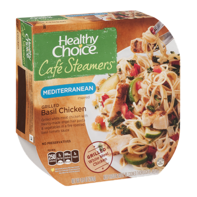 Healthy Choice Cafe Steamers Mediterranean Inspired Grilled Basil Chicken