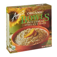 Amy's Organic Steel-Cut Oats Hot Cereal Bowls