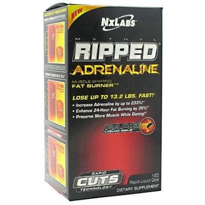 NX CARE NxLabs Methyl Ripped Adrenaline Muscle-Sparing Fat Burner - 120 Rapid Liquid