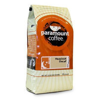 Paramount Coffee, Hazelnut Decaf Ground Coffee, 12-Ounce Bags (Pack of 3)