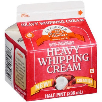 C.F. Burger Creamery: Ultra Pasteurized Heavy Whipping Cream, 236 ml