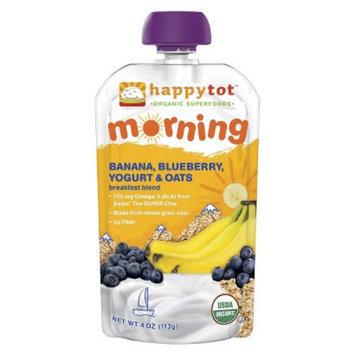 Happy Tot HappyTot Morning Banana, Blueberry, Yogurt & Oats 4.22 oz Usda Organic