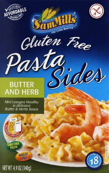 Sam Mills Pasta Side Gluten Free Butter & 4.9 Oz Pack Of 6