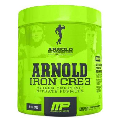 MusclePharm Arnold Schwarzenegger Series Iron CRE3, Blue Razz, 4.44 oz