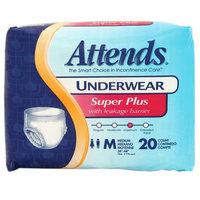 Attends Underwear Super Plus Maximum Absorbency Medium 34 inch - 44 inch
