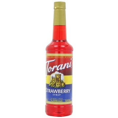 Torani Syrup, Strawberry, 25.4-Ounce Bottles (Pack of 3)