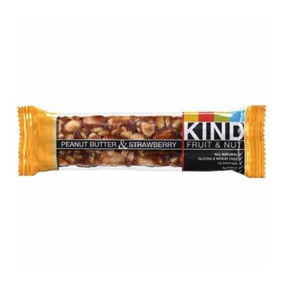 Kind Fruit & Nut Kind Bar Peanut Butter and Strawberry Case of 12 1.4 oz